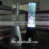 new products Music iron fountain vase led melody bluetooth Speaker for mobile phone/computer top tech audio speaker