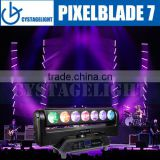Pixelblade 7 X 15W Led Beam Moving Head Light Pixelblade 7 Led Moving Head Continues P/T