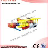 amusement kiddie ridess / coin operated kiddie rides airplane / kiddie rides coin mechanism