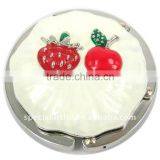 metal cake shaped table bag hanger stand for birthday gifts and premium ,weight capacity : 7kg