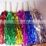 cheering pom pom/tinsel pompom/cheering products