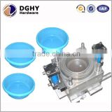 High precision customized injection moulding service Plastic injection mould with clear PC material for decoration
