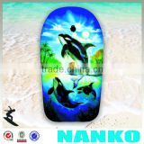 NA1127 Ninghai Factory Direct Sale Plastic Paddle Surf Boarding, Bodyboard For Kids Kicking Board