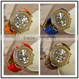 wholesale women genuine cow leather vintage watch