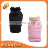 Custom Polyester heated Pet Clothing Dogs Heated Dog Clothes Manufacturers heated pet Jacket