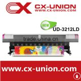 2016 hot sale Galaxy UD-2512LC 4 color pvc wallpaper film eco solvent inkjet printing machine for sale