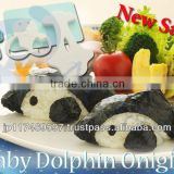 wholesale 3d cake dolphin mold kitchenware decoration gift lunch bento box cook tools rice ball molds set baby dolphin onigiri