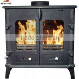 CE Certified Cast Iron Wood Burning Stove With Bolier                                                                                                         Supplier's Choice