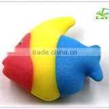 Natural kids baby cartoon shape bath cellulose sponge