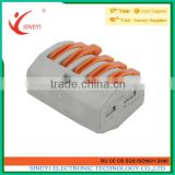 Sineyi Promotion Price Cheapest 5 Way Wire Series test Easy crimping clamp wago electric plug terminals