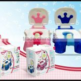 2014 New plastic sissy baby potty training seat with music