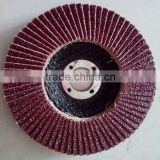 abrasive cloth flap disc for polishing metal and stainless steel