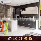 modern design high gloss modular kitchen cabinet color combination                                                                         Quality Choice