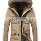 man united paypal running parka grey white goose down jacket with fur, japanese canada add down coat with detachable hood