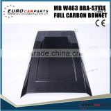 Carbon Fiber Engine Bonnet /hood scoop b-style for w463 G500 G63 to G800 modification
