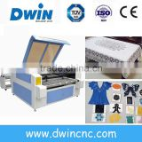 bigger automatic laser tube fabric and wood cutting and engraving machine with DW1410 model