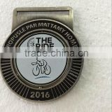 factory wholesale price custom sports medal,Canada zinc alloy award medal,antique silver medal,spinning medal,bike medal