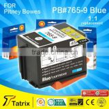 The Postage Meter Ink 765-9 Blue can be used for printing the stamps .