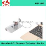 Newest updated premium usb 3.1 hub, type c female port built-in PD chipset charging for Apple new macbook