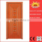 SC-W044 Excellent Quality Low Price Unfinished Wood Exterior Door