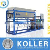 Latest Design Directly Aluminum Plate Ice Block Machine With PLC Program System