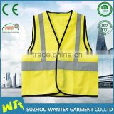 wholesale safety working vest in winter reflective safety working vest road clothing cheap safety construction vest