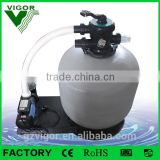 2016 HOT selling swimming pool filtration combo, sand filter with pump for water treatment