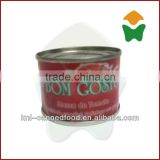 Same quality as gino tomato paste 70gx50tins