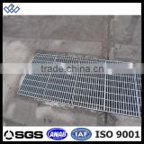 Galvanized sewer trench drain cover