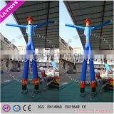 Wholesale top quality inflatable nylon type desktop air dancer for promotion