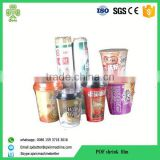 5layers colored heat shrink wrap film for beverage
