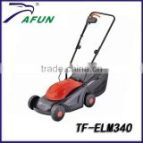 Hot sale 1100W electric lawn mower,grass cutter,grass cutting machine with ower price(TF-ELM340)