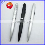 2014 quality 644211 heavy aluminium twist promotional bic metal ball pen (metal pen)