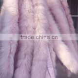 BBG-H-21 Soft/Comfortable/Smooth silver fox fur trim for Jacket