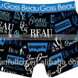 men's underwear with Sublimation printing