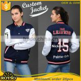 Make Your Own Custom Women Kid Cotton Varsity Baseball Letterman Jacket Wholesale College Jackets for girls Cheap High Quality