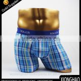 Stripe new design 95% cotton and 5% elastane sexy boys modeling underwear with elastic band