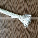 uncoated Glass Fiber Wire Cable Protection Sleeving