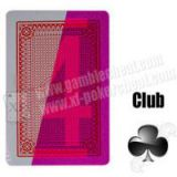 Poker Side Bin Li Paper Marked Cards / Red Invisible Poker