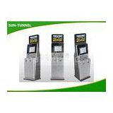 Thin And Small Touch Screen Hotel Lobby Kiosk Anti - Vandal 250cd /