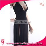 Wholesale China Products long black bodycon dress