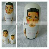 custom wood russian matryoshka dolls