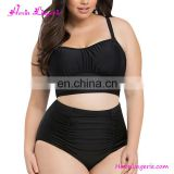 Plus Size Black Swimwear Beautiful Women Sexy Bathing Suit From China