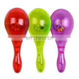 Light Up Neon Toys LED Plastic Maracas Noise Maker Rattle