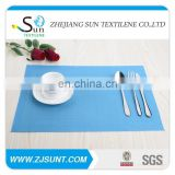 Hot sale blue rectangle placemat in 2015