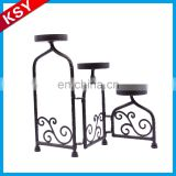Newest Fine Workmanship Wholesale Centerpieces Round Lantern Metal Candle Holder For Wedding