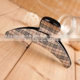 High end fabric ponytail hair clips for women