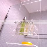 Acrylic Modern Bathroom Hanging Shower Caddy,shower caddy tray