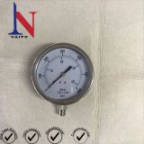 OEM 100mm Crimped Ring Fillable Pressure Gauge for Press Brake