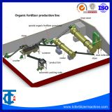 Automatic Organic Fertilizer Production Line From Chicken Droppings